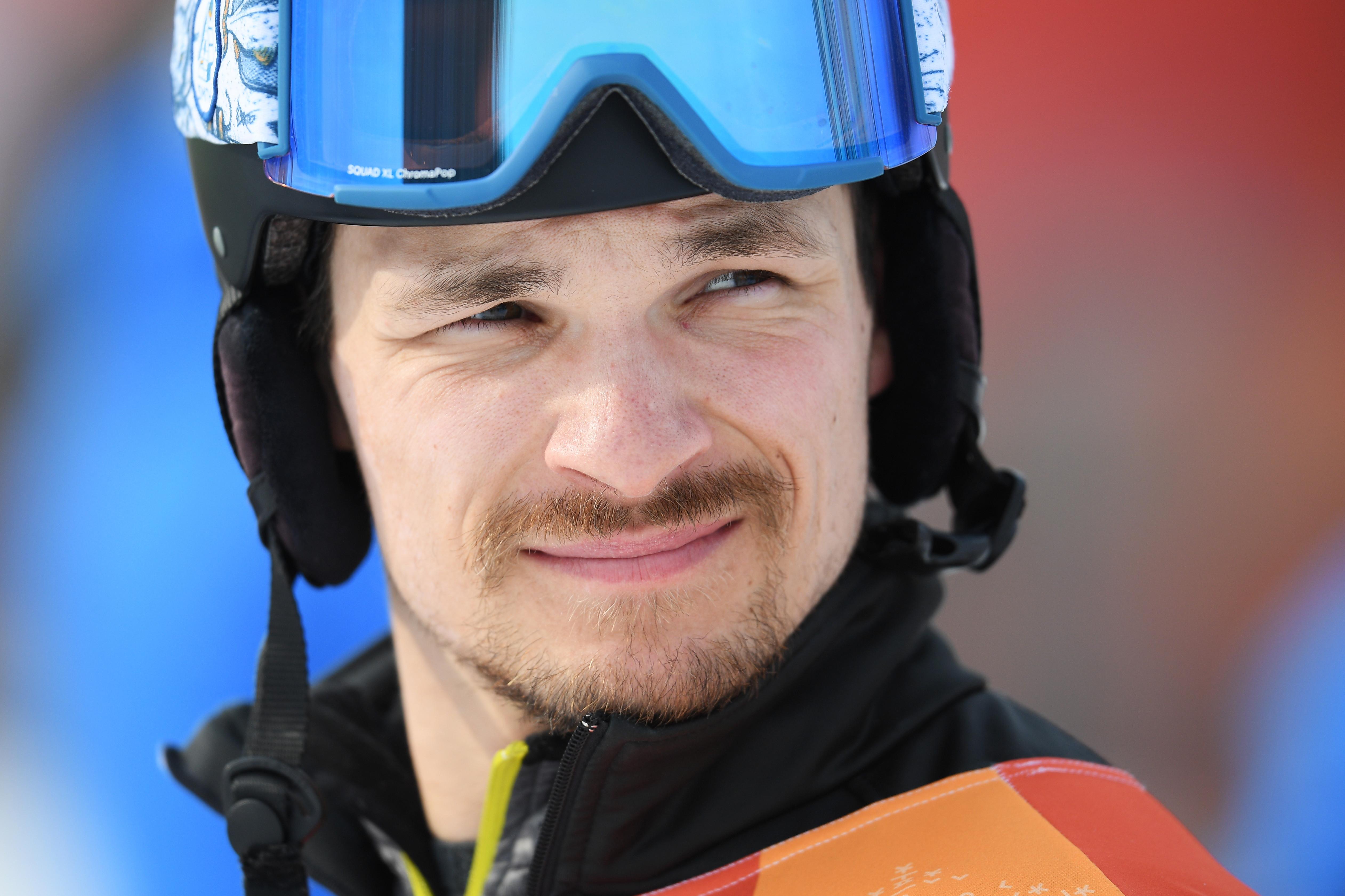Российский сноубордист Вик Уайлд выбыл на стадии 1/8 финала. Фото: РИА Новости/Рамиль Ситдиков