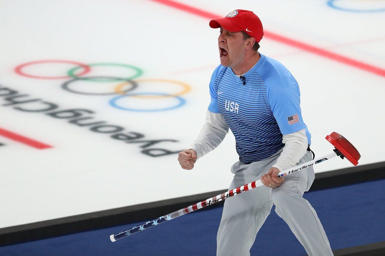Кёрлингисты из США стали олимпийскими чемпионами в Пхёнчхане, обыграв шведов со счётом 10:7. Фото: twitter.com/@olympics
