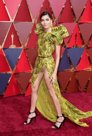 """Актриса Бланка Бланко на церемонии """"Оскара"""" в 2017-м. Фото © Barcroft Media / mirror.co.uk."""