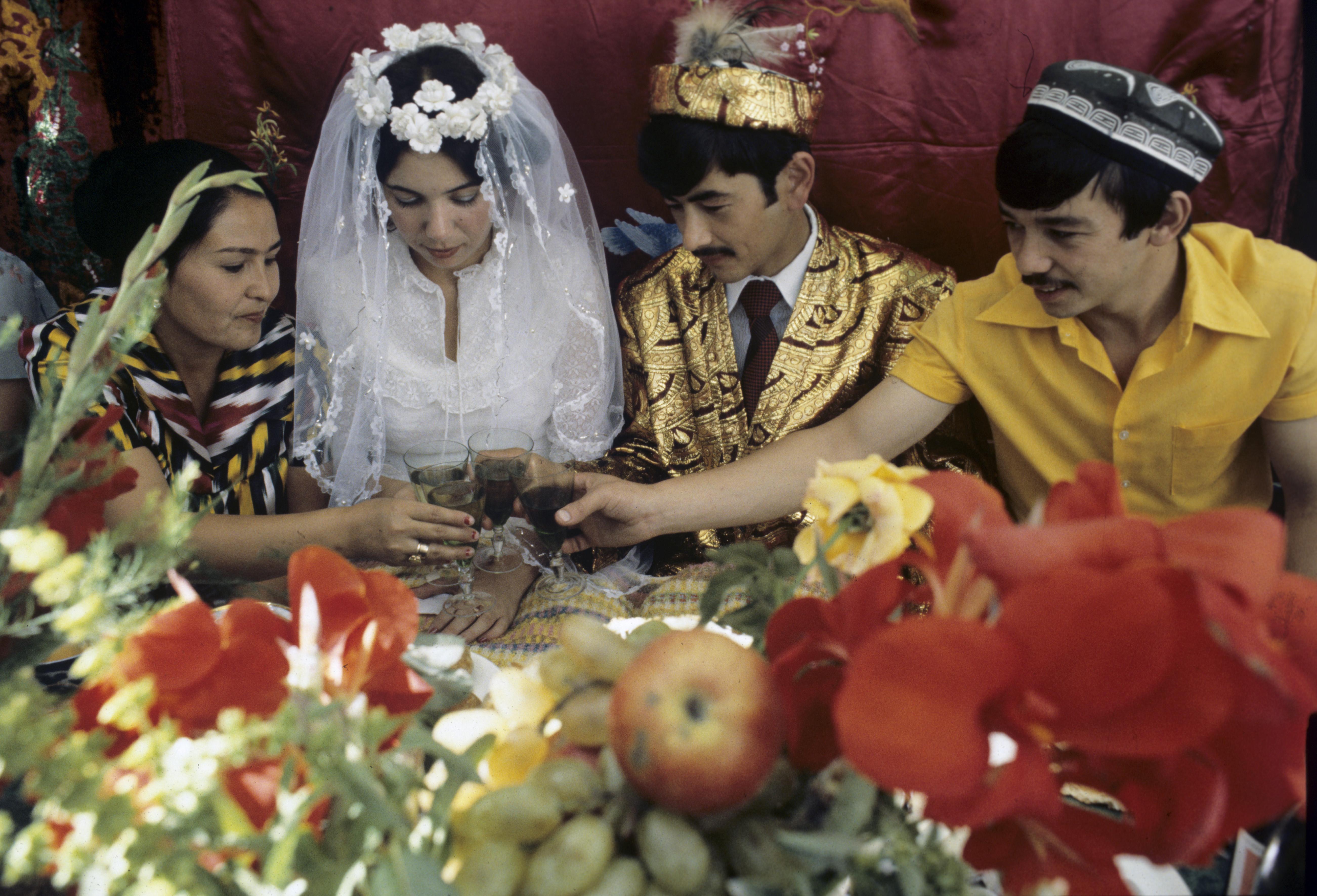 Фото свадебных в узбекистане