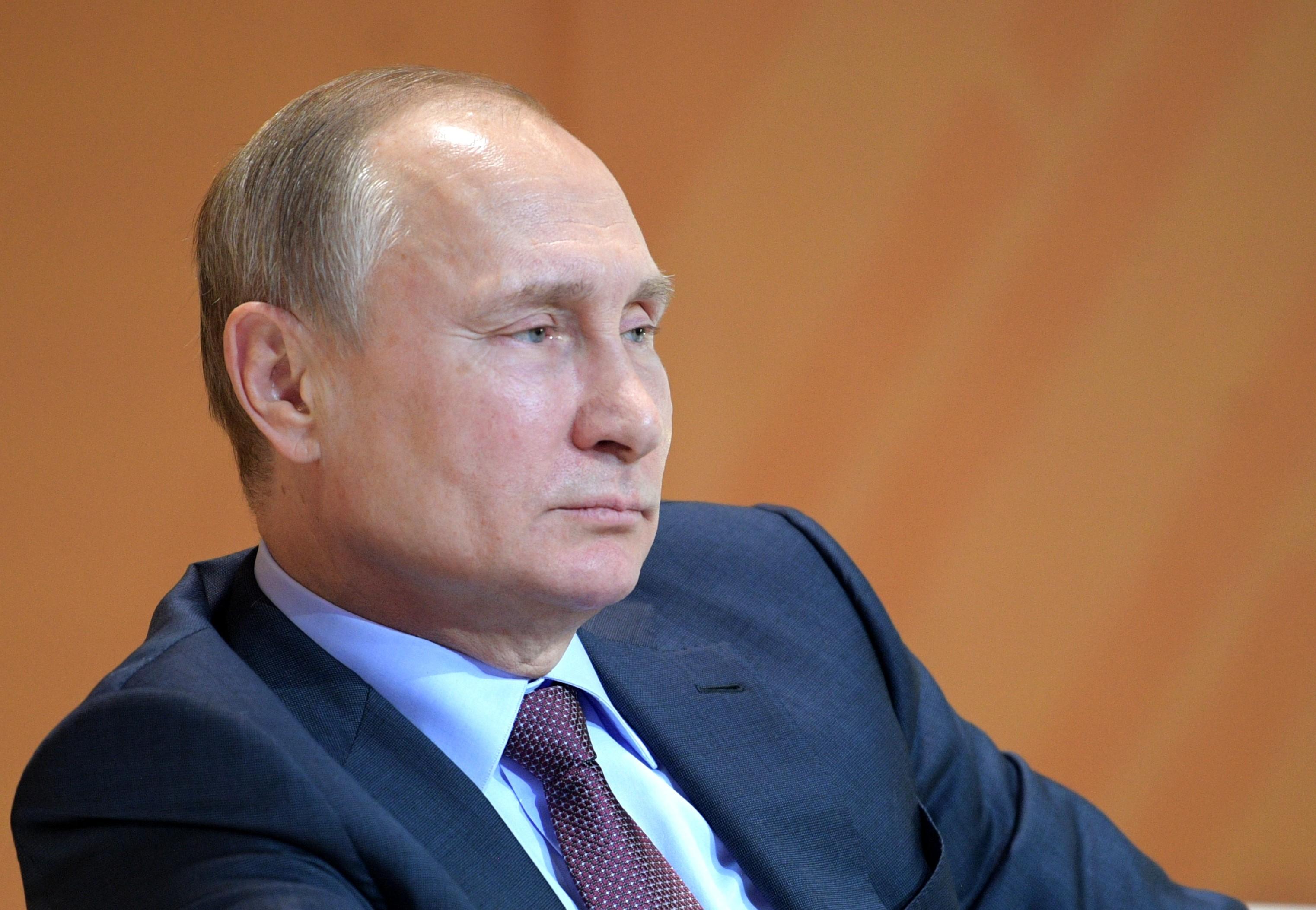 <p><span>Президент РФ Владимир Путин.&nbsp;Фото &copy; РИА Новости/Алексей Дружинин</span></p>