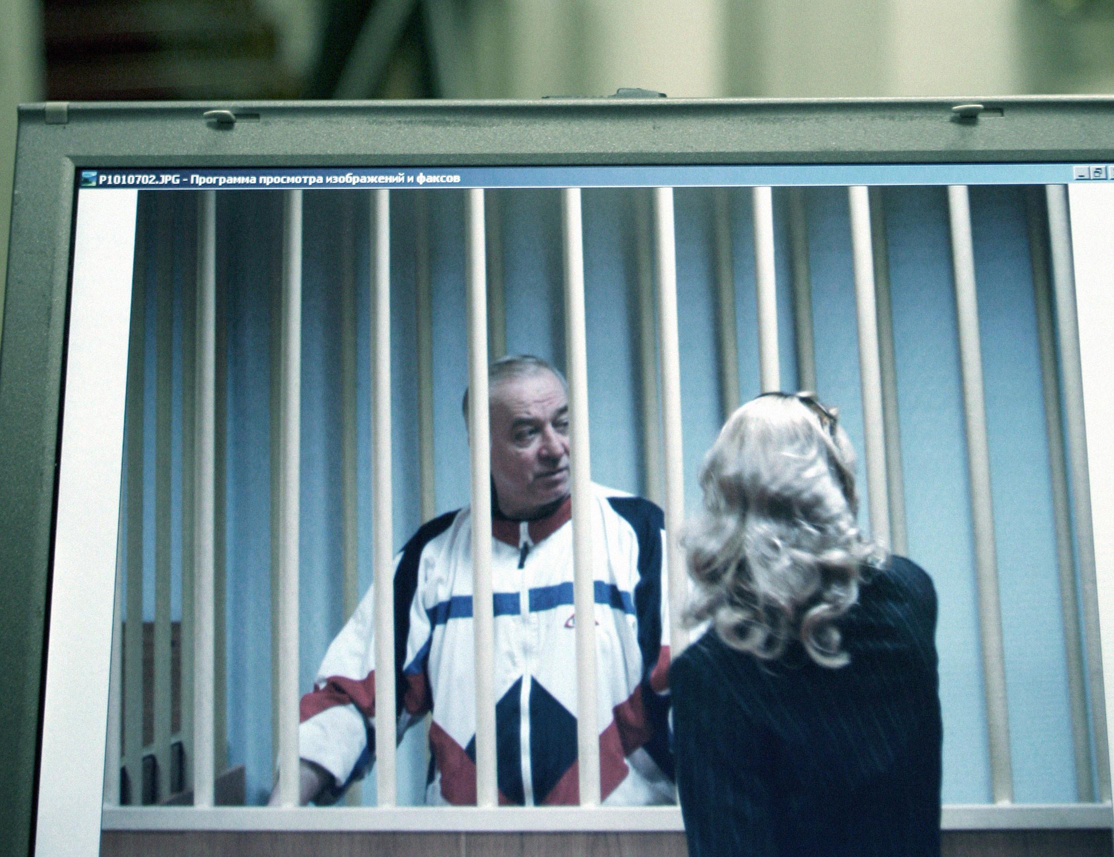 Сергей Скрипаль в зале суда. Фото © AP Photo/Misha Japaridze