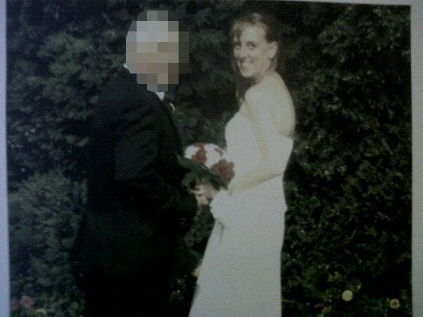 Натали и Пол Стрикленд в день свадьбы. Фото © thesun.co.uk