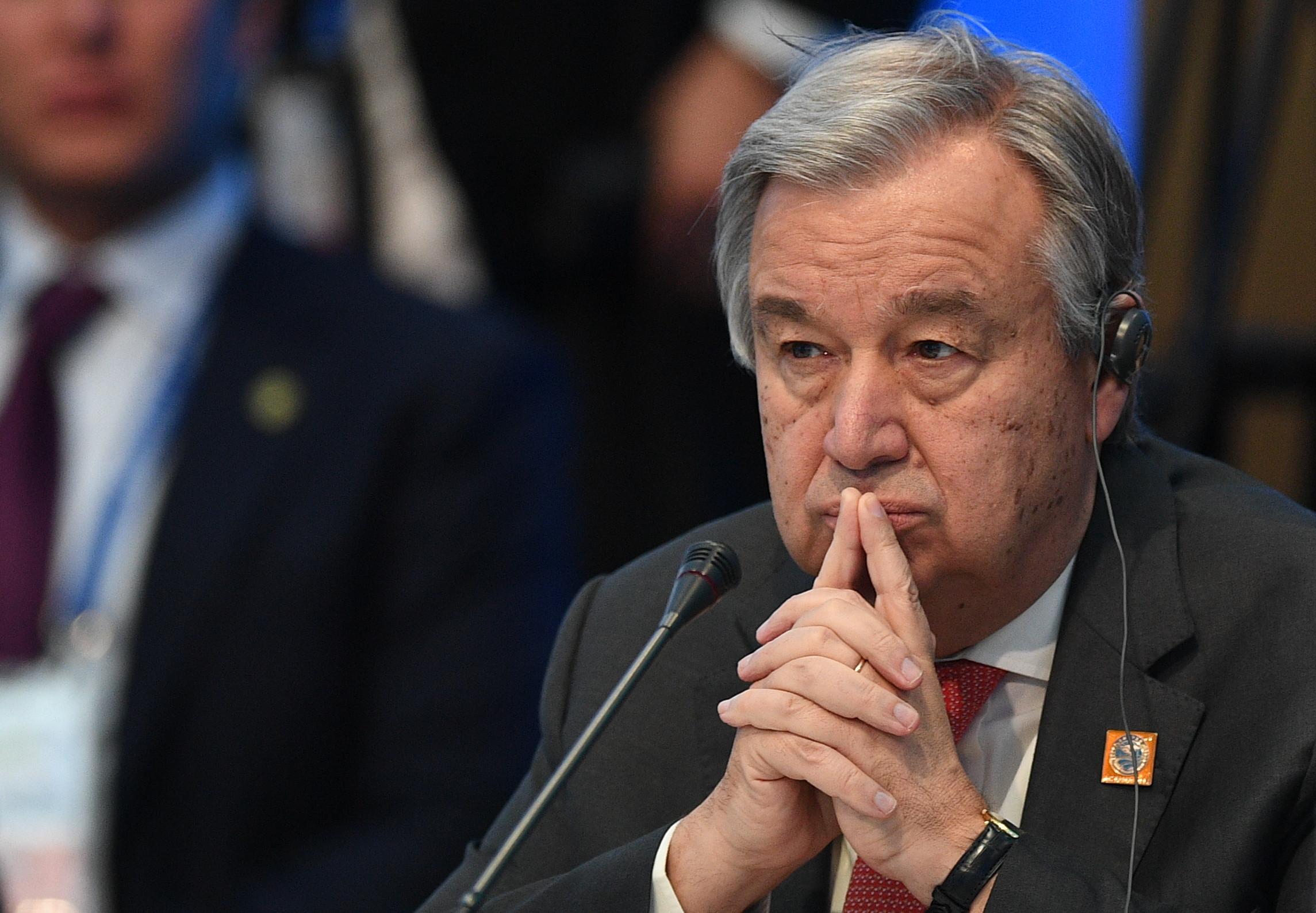 <p><span>Генеральный секретарь ООН Антониу Гутерриш. Фото: &copy;РИА Новости/Владимир Астапкович</span></p>