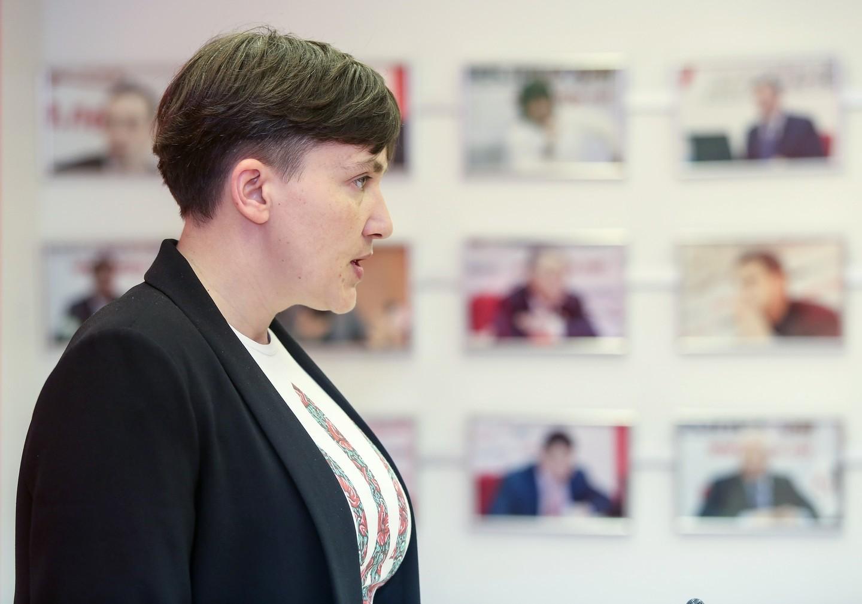 <p><span>Надежда Савченко. Фото: &copy; РИА Новости/Григорий Костин</span></p>