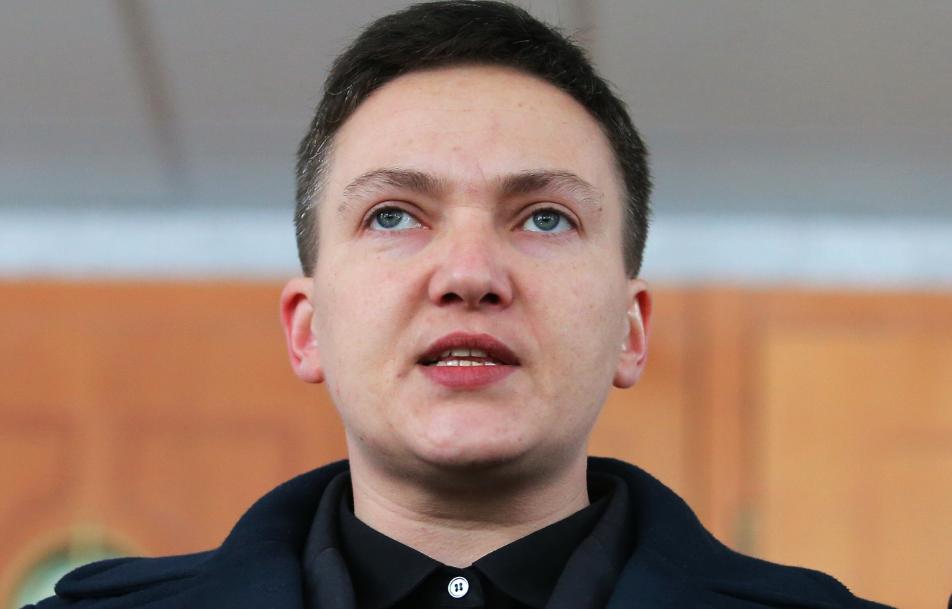 <p><span>Нардеп Надежда Савченко.&nbsp;Фото &copy; РИА Новости</span></p>