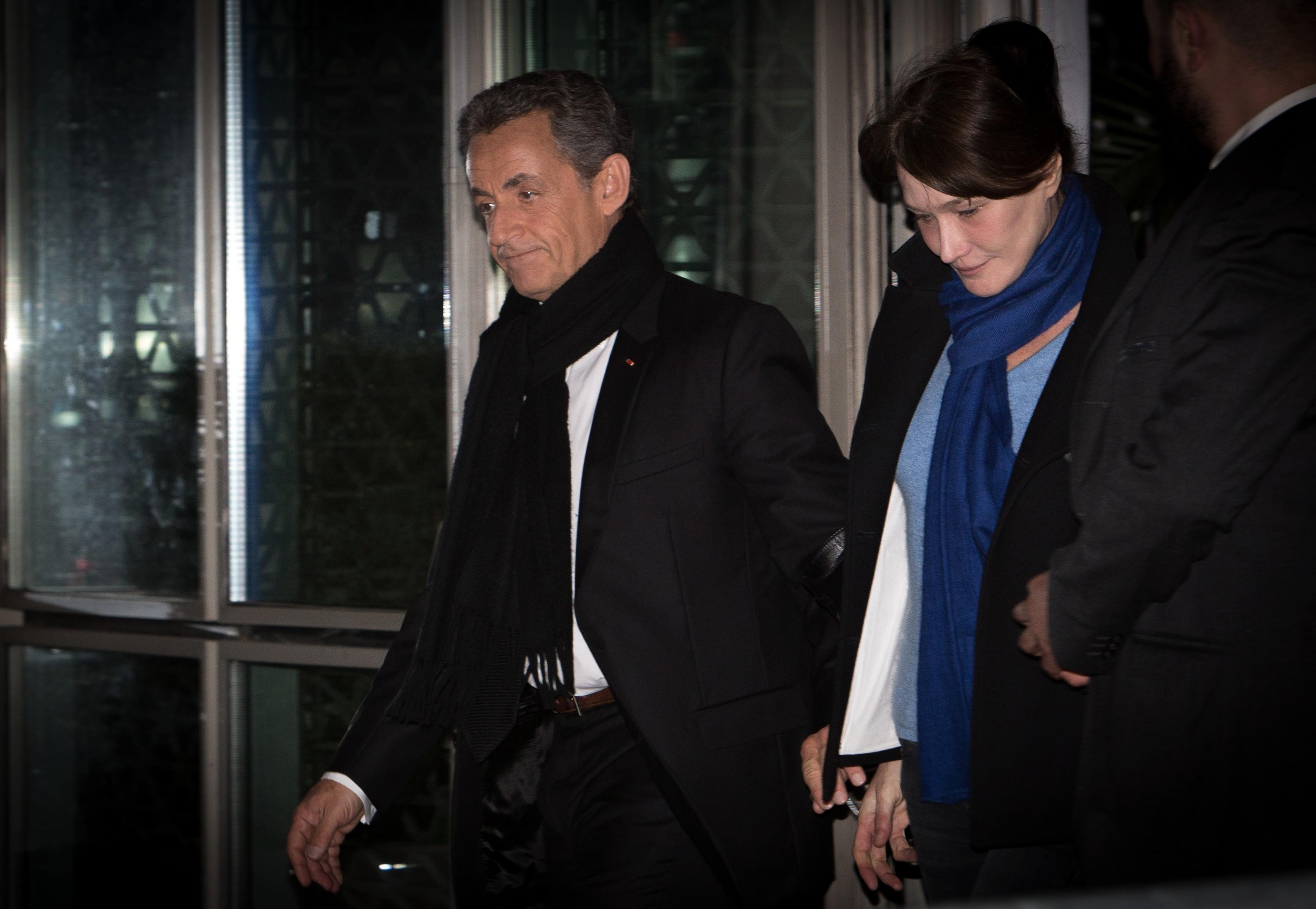 <p>Экс-президент Франции Николя Саркози с супругой Карлой Бруни. Фото: &copy;РИА Новости/Ирина Калашникова</p>