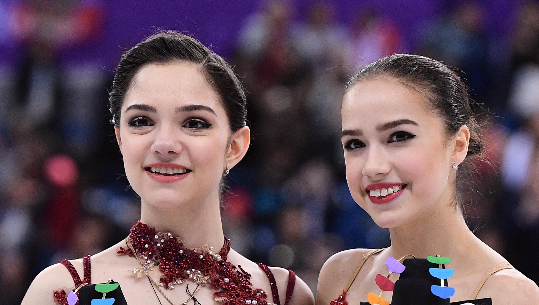 <p>Евгения Медведева и Алина Загитова. Фото: &copy; РИА Новости/Владимир Песня</p>