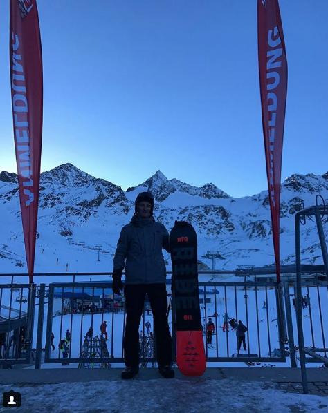 Фото: instagram.com/ivan_139 / Сын миллиардера на роскошном горнолыжном курорте в Альпах