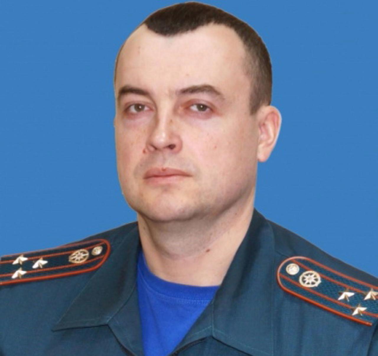 Павел Кононов. Фото: © Главное управление МЧС России по Кемеровской области