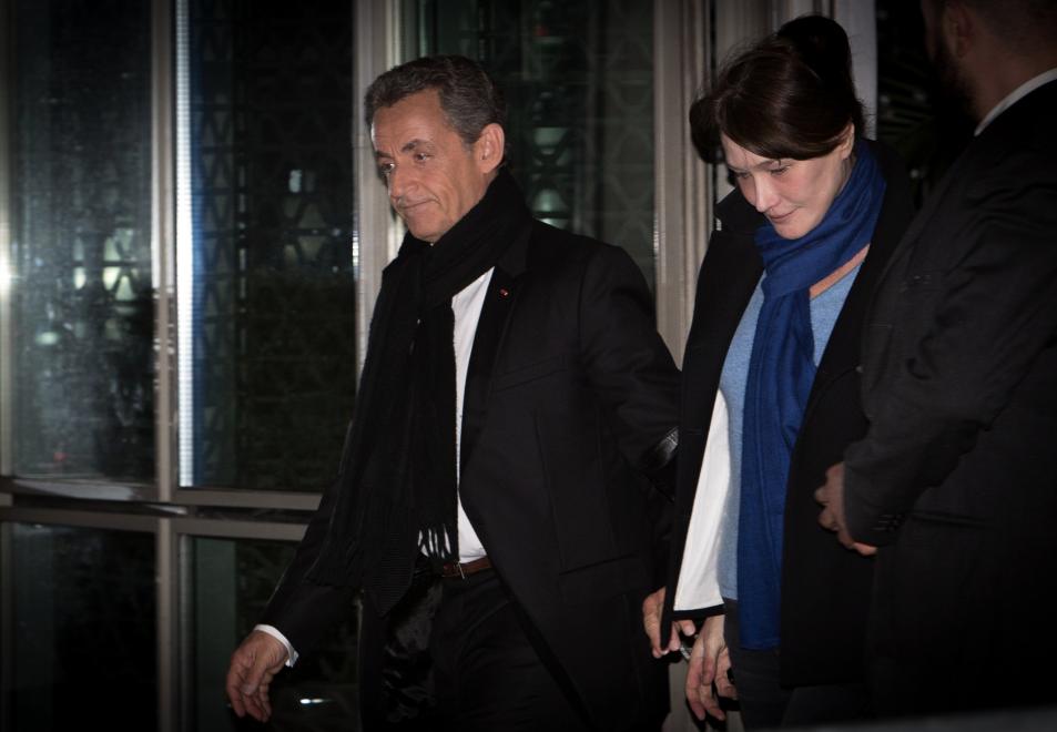 <p><span>Экс-президент Франции Николя Саркози с супругой Карлой Бруни. Фото: &copy;РИА Новости/Ирина Калашникова</span></p>