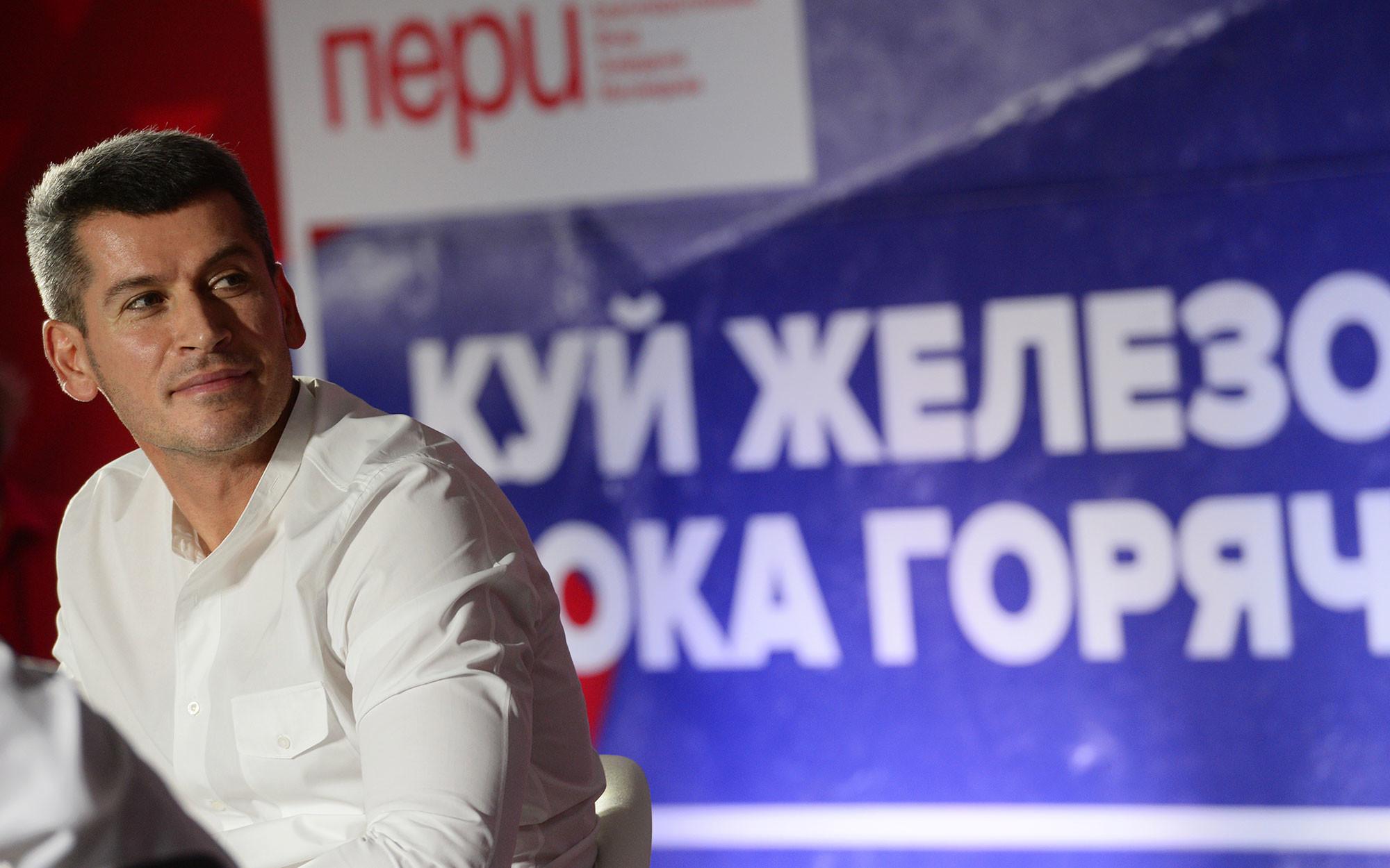 """Руководитель группы """"Сумма"""", предприниматель Зиявудин Магомедов. Фото: © РИА Новости / Владимир Вяткин"""