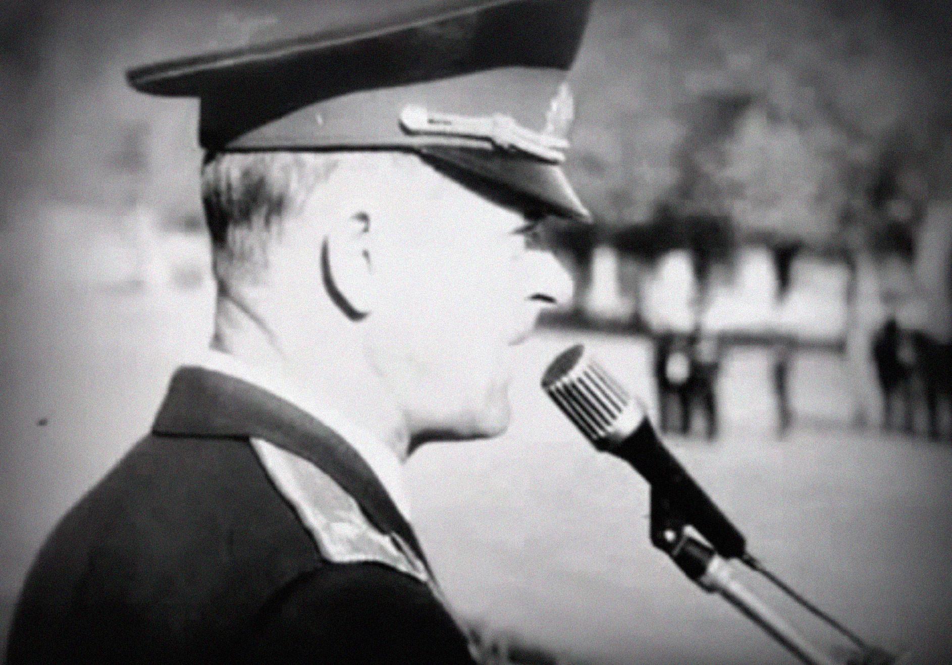 Полковник Квачков. Скриншот видео MEXAHIZM