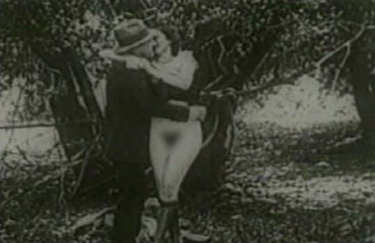 """Кадр из фильма """"Бесплатная поездка"""" (1915 год). Фото: upload.wikimedia.org"""