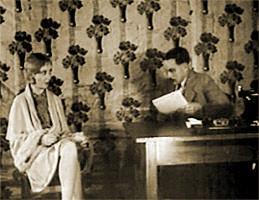 """Кадр из фильма """"Диван для кастинга"""" (1924 год). Фото: silentera.com"""