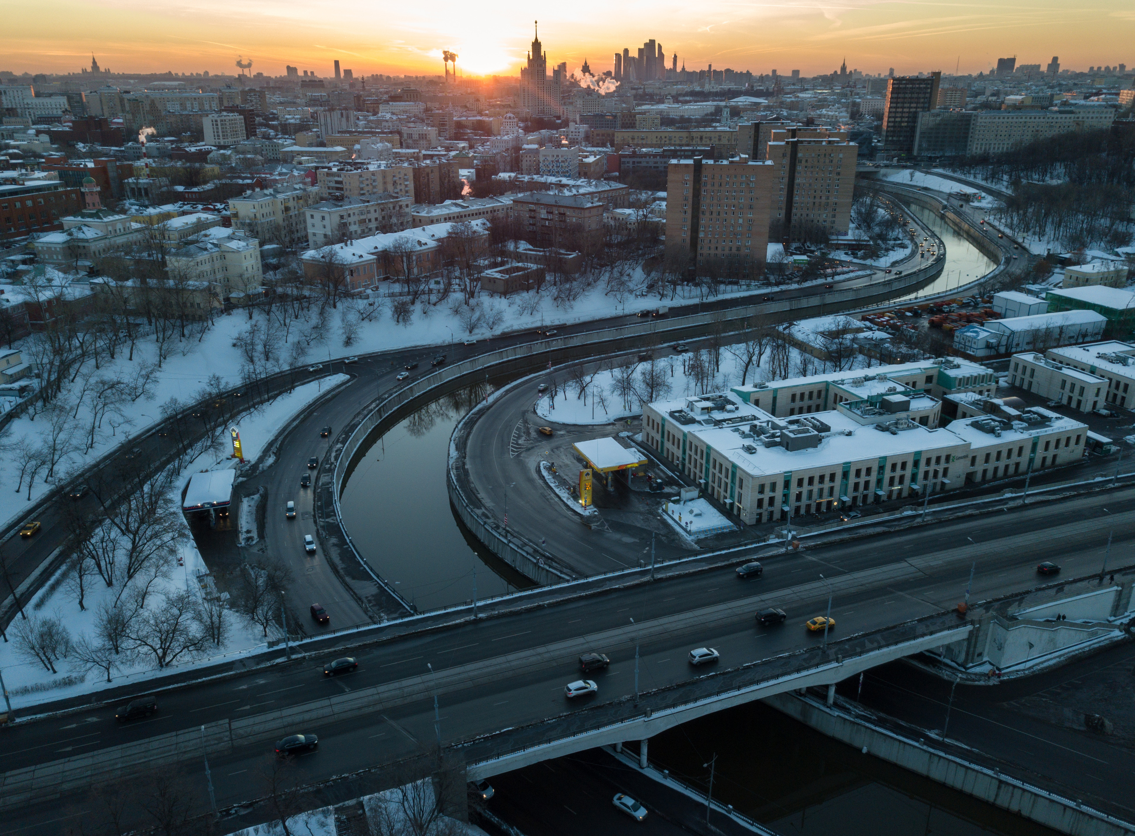 <p>Москва. Фото: &copy; РИА Новости / Максим Блинов</p>