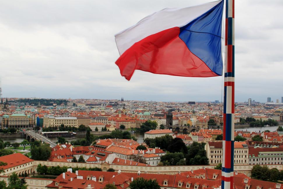 Флаг Чехии. Фото: © Flickr/C.