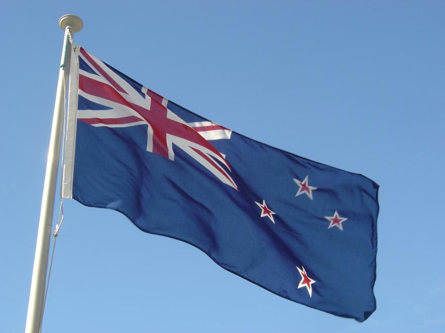Флаг Новой Зеландии. Фото: © Flickr/Tākuta