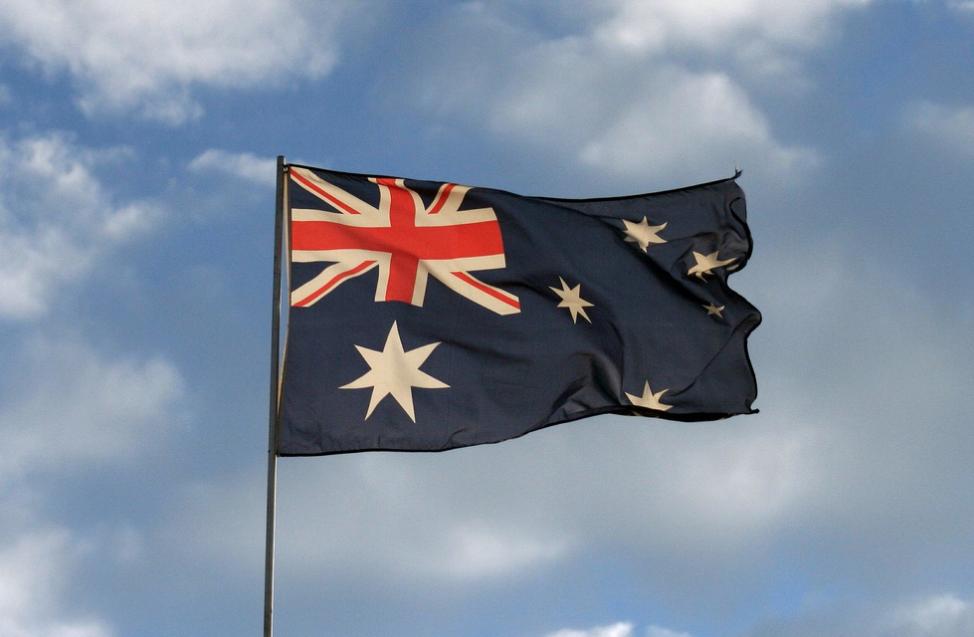 Флаг Австралии. Фото: © Flickr / Simon Leonard