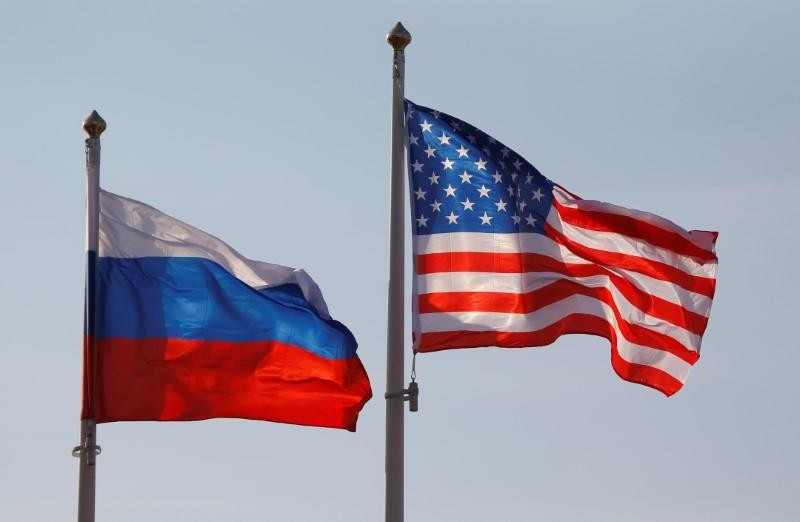 <p>Флаги России и США. Фото: &copy; REUTERS<span>/Maxim Shemetov</span></p>