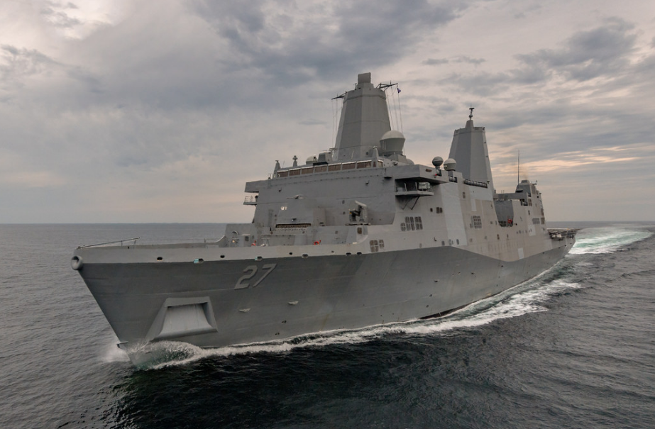"<p><span>USS Portland</span> &copy;<span>&nbsp;</span><a href=""https://www.flickr.com/photos/usnavy/35696636566/"" target=""_blank"">Flickr/Official U.S. Navy Page</a></p> <div> <div></div> </div>"