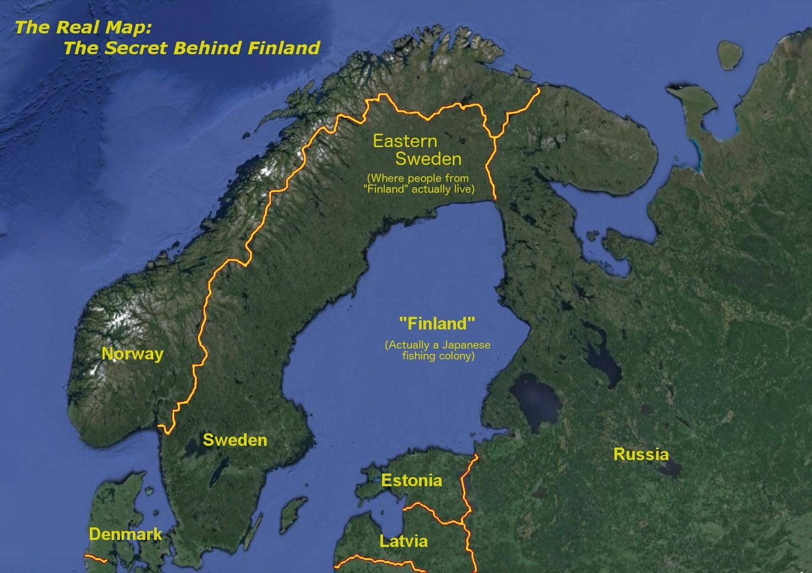 """Японская рыболовецкая колония """"Финляндия"""". Фото: © reddit.com"""