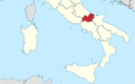 Молизе на карте Италии. Фото: © commons.wikimedia.org