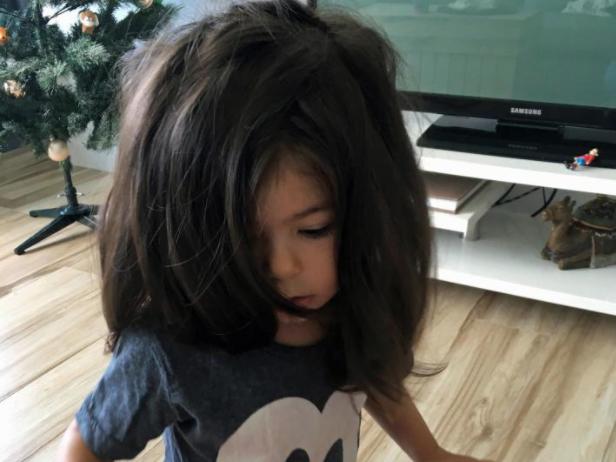 Сделать прическу 2 летней девочки
