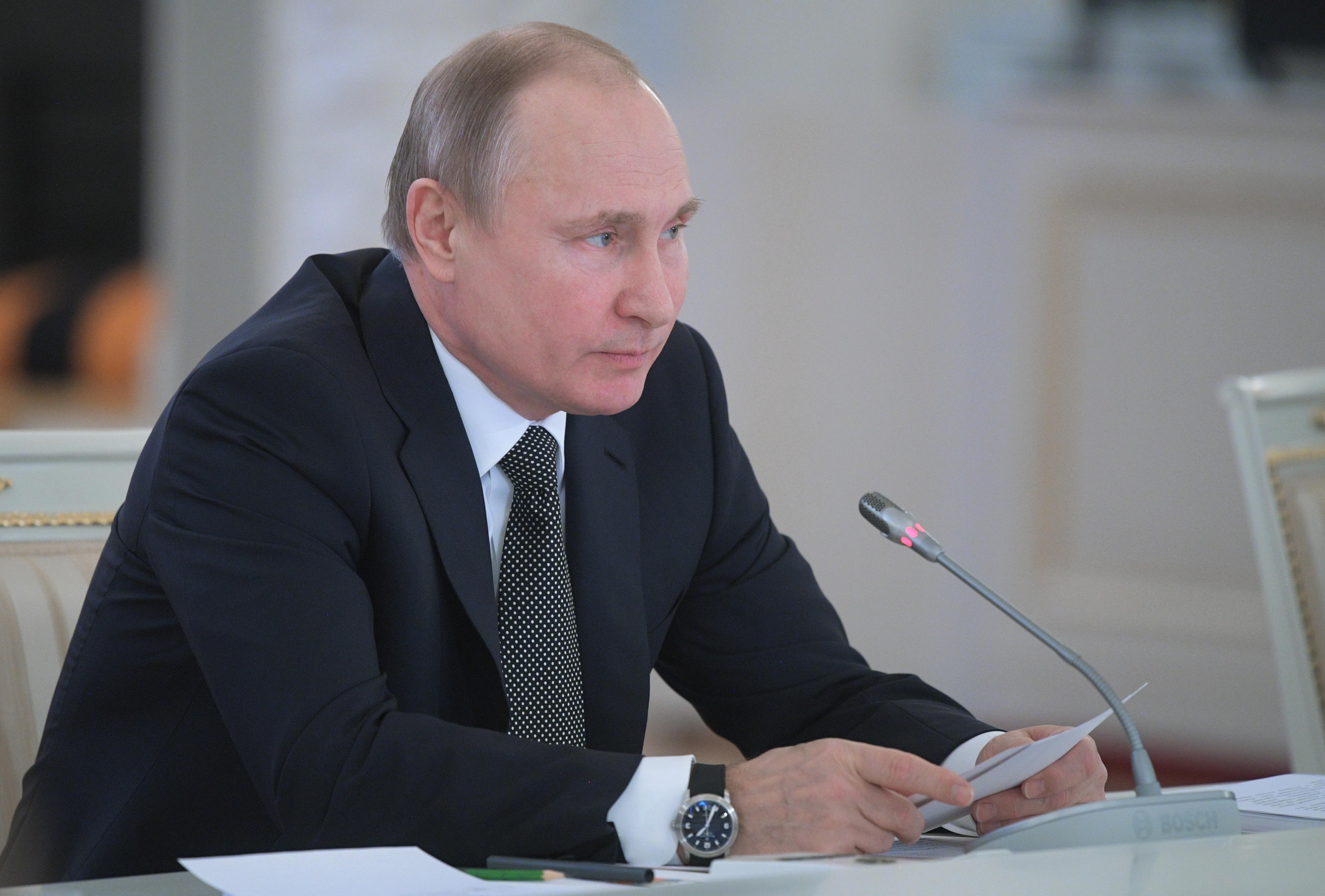<p><span>Владимир Путин. Фото: &copy;РИА Новости/Алексей Дружинин</span></p>
