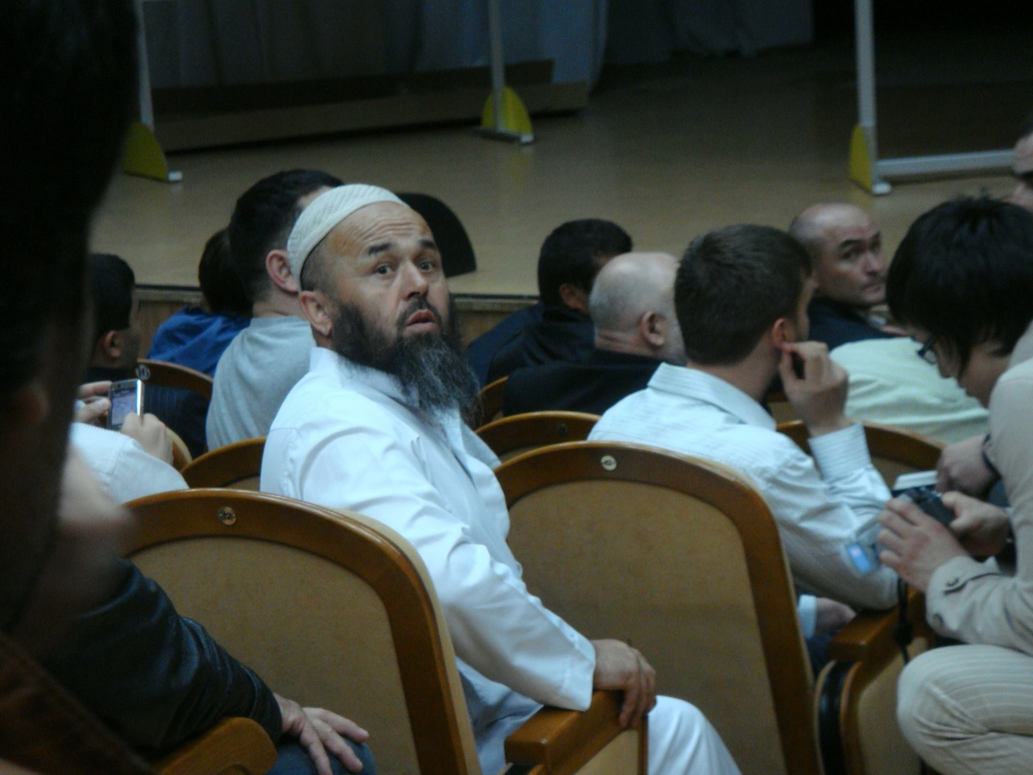 "Имам мечети Акбаров И.С. Фото © Facebook / Мечеть ""Нур Ислама"""