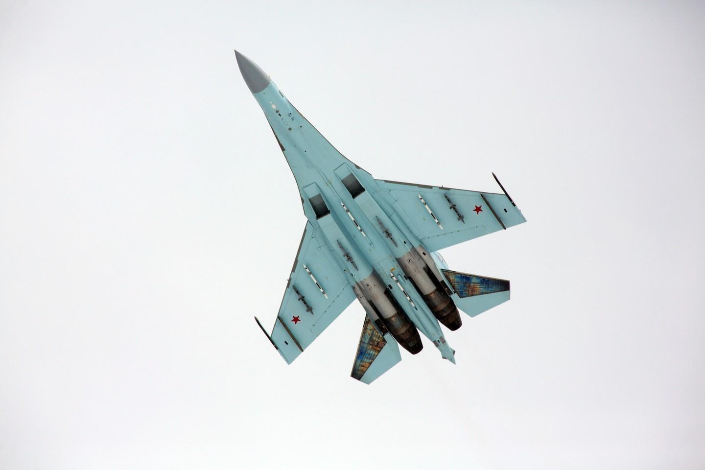 <p><span>Истребитель Су-27. Фото: &copy;РИА Новости/Анатолий Медведь</span></p>