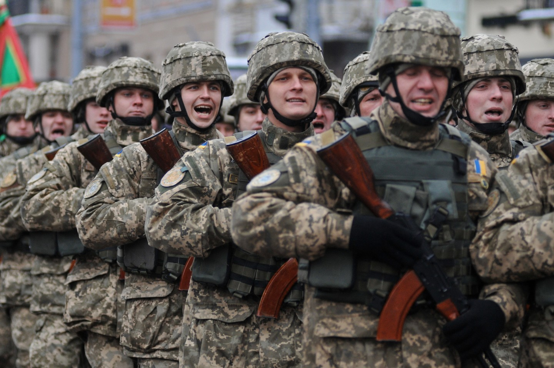 Военнослужащие Вооружённых сил Украины. Фото: © РИА Новости