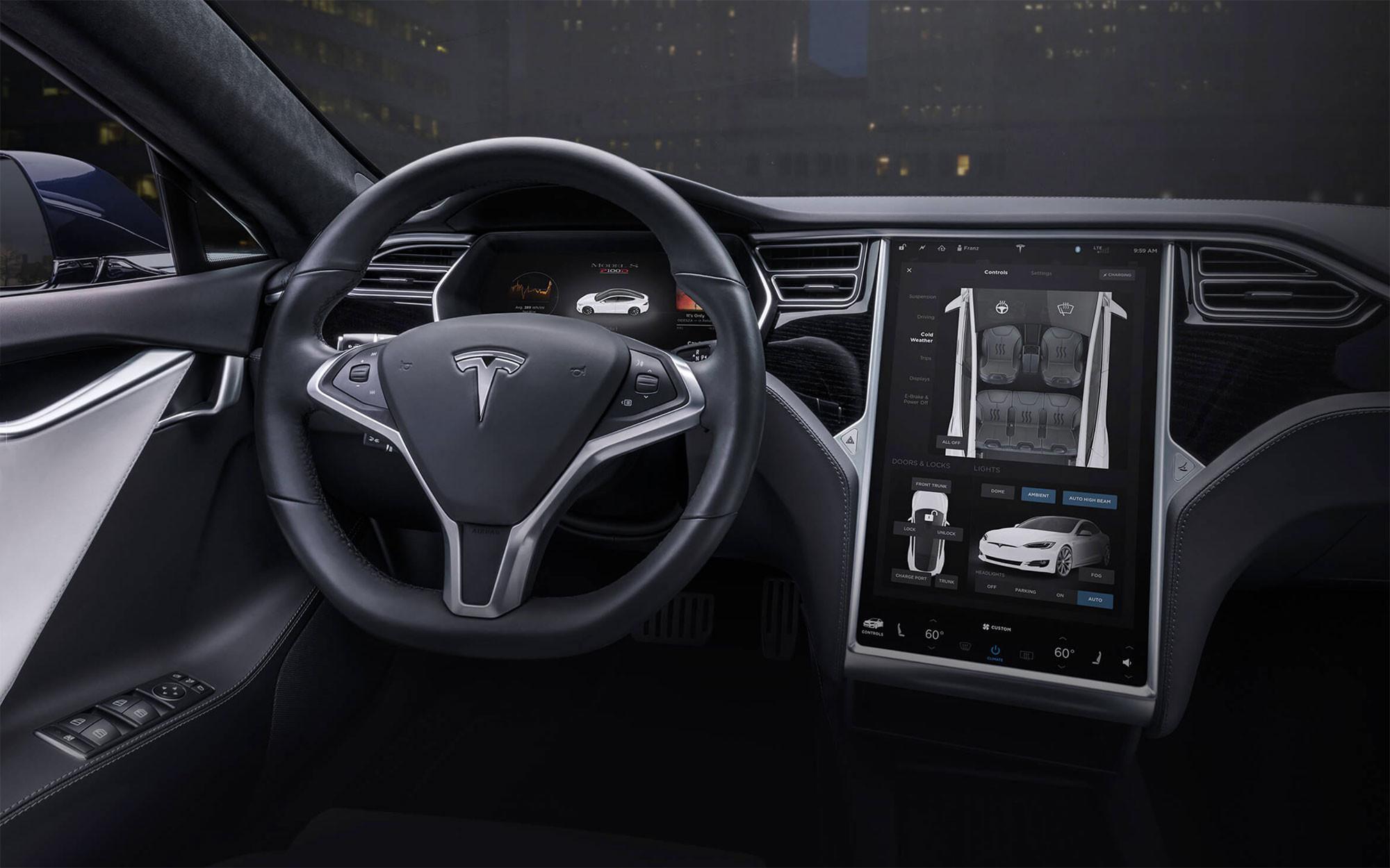 Model S. Фото: © Tesla