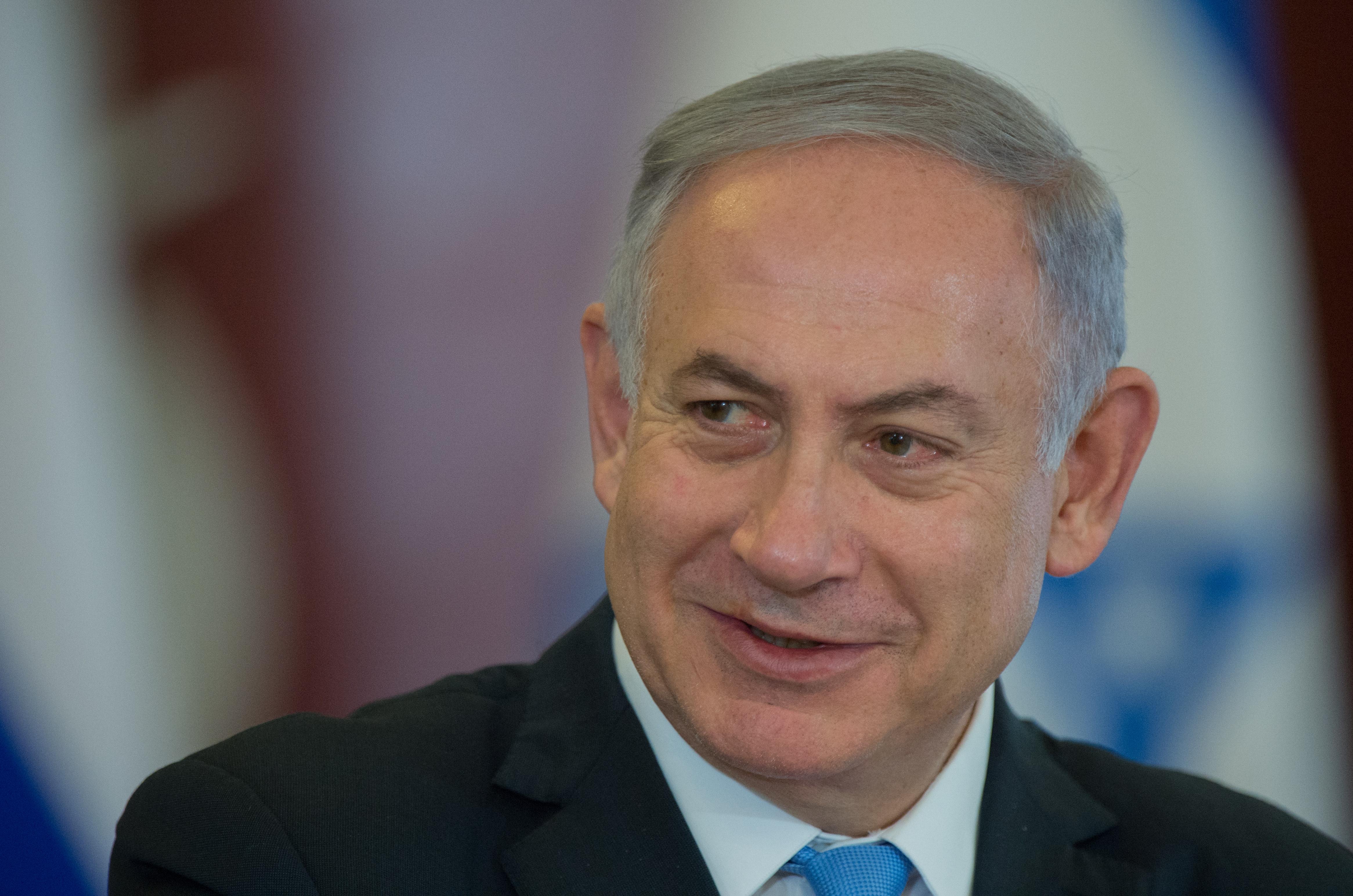 <p><span> Премьер-министр Израиля Биньямин Нетаньяху.&nbsp;</span>Фото: &copy;РИА Новости/Сергей Гунеев</p>