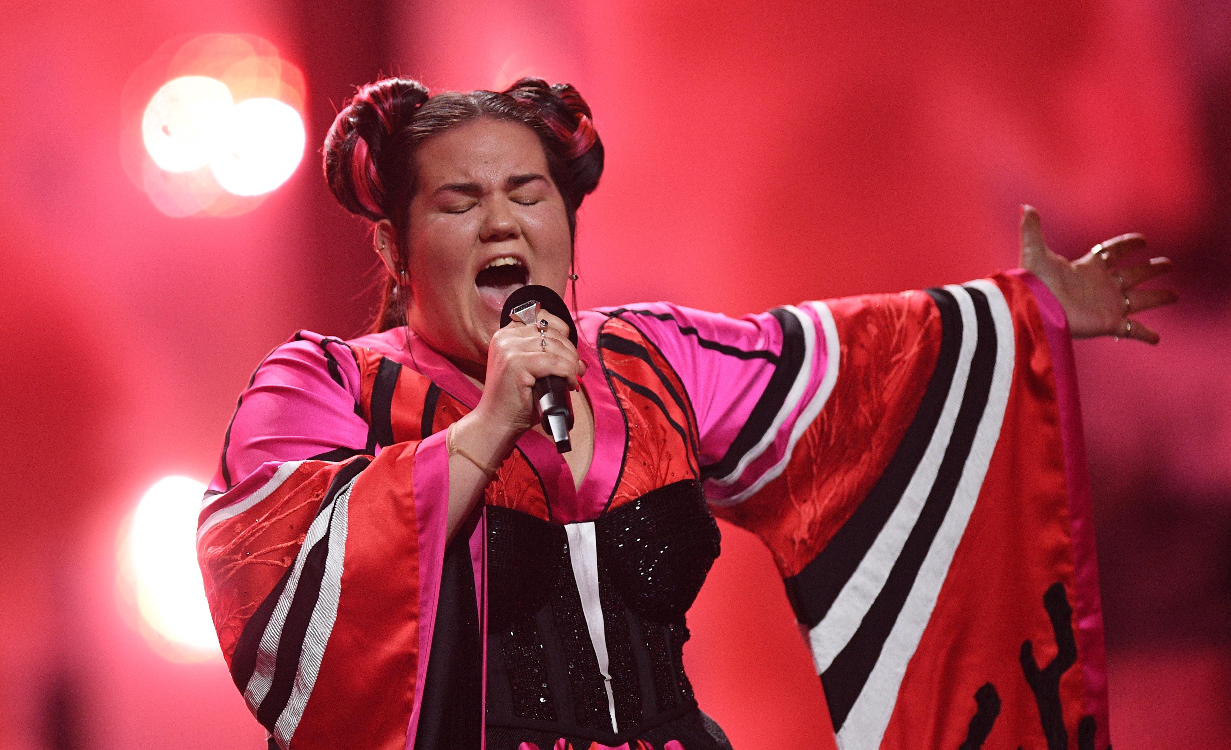 <p><span>Певица Нетта Барзилай. Фото: &copy;РИА Новости/Владимир Астапкович</span></p>