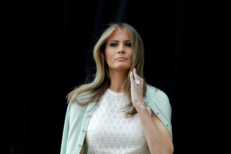<p><span>Первая леди США Меланья Трамп. Фото:&nbsp;</span><span>&copy;&nbsp;</span><span>REUTERS/Yuri Gripas</span></p>