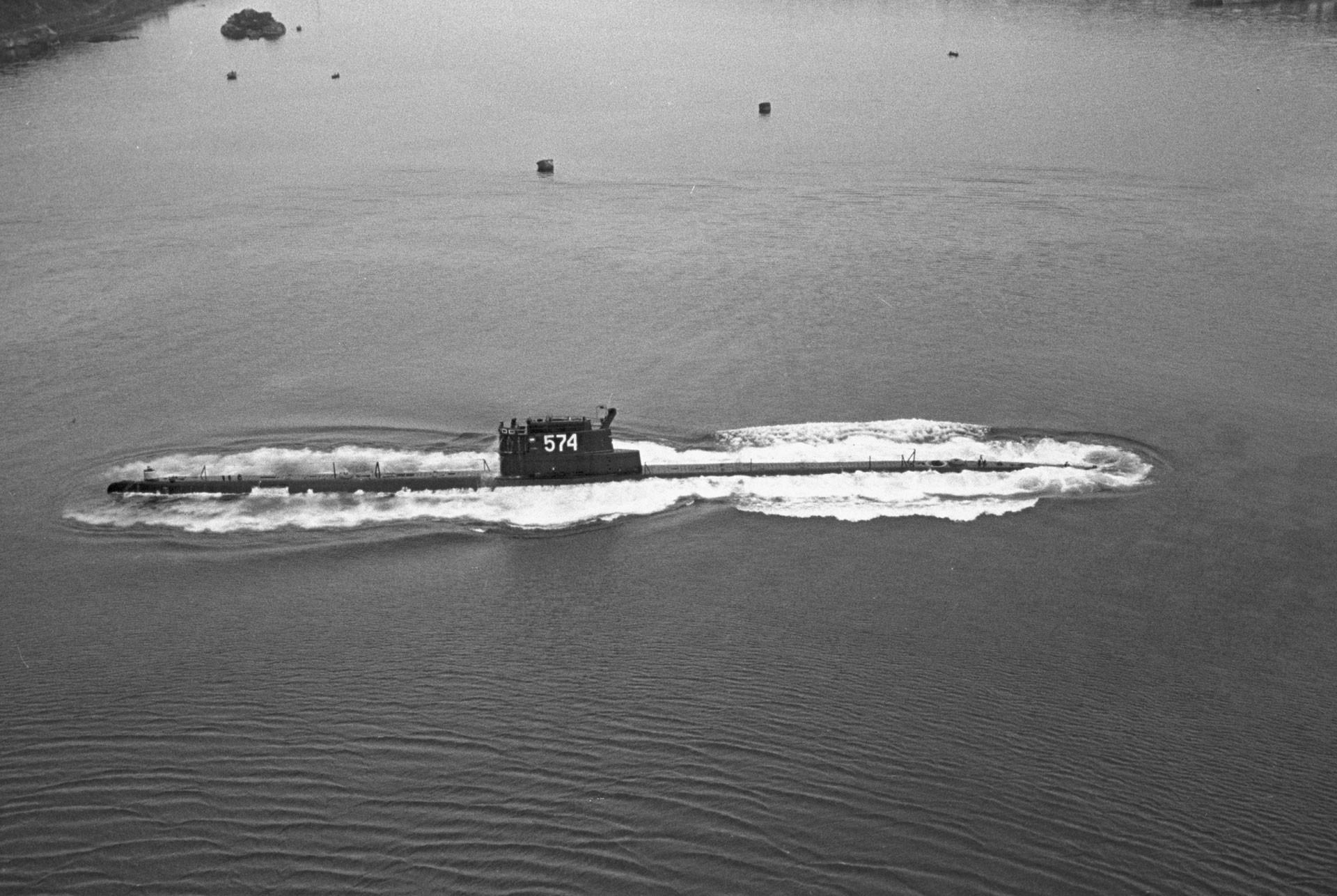 Подводная лодка К-129. Фото: © РИА Новости/А. Стешанов