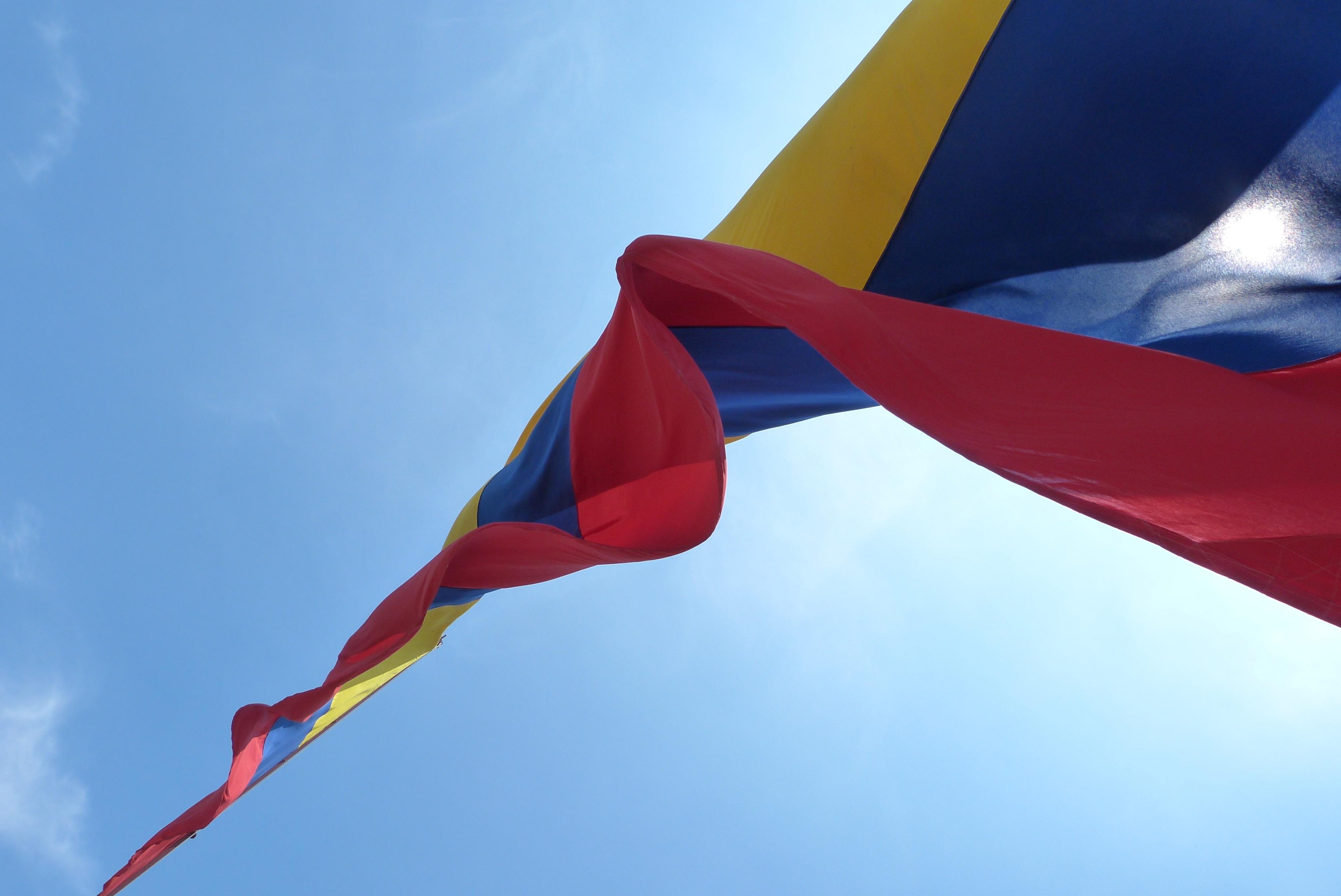 "<p>Флаг Колумбии. Фото: &copy; Flickr/<a href=""https://www.flickr.com/photos/yovengoasumar/"" title=""Go to yulian_franco's photostream"" data-track=""attributionNameClick"" data-rapid_p=""53"">yulian_franco</a></p>"
