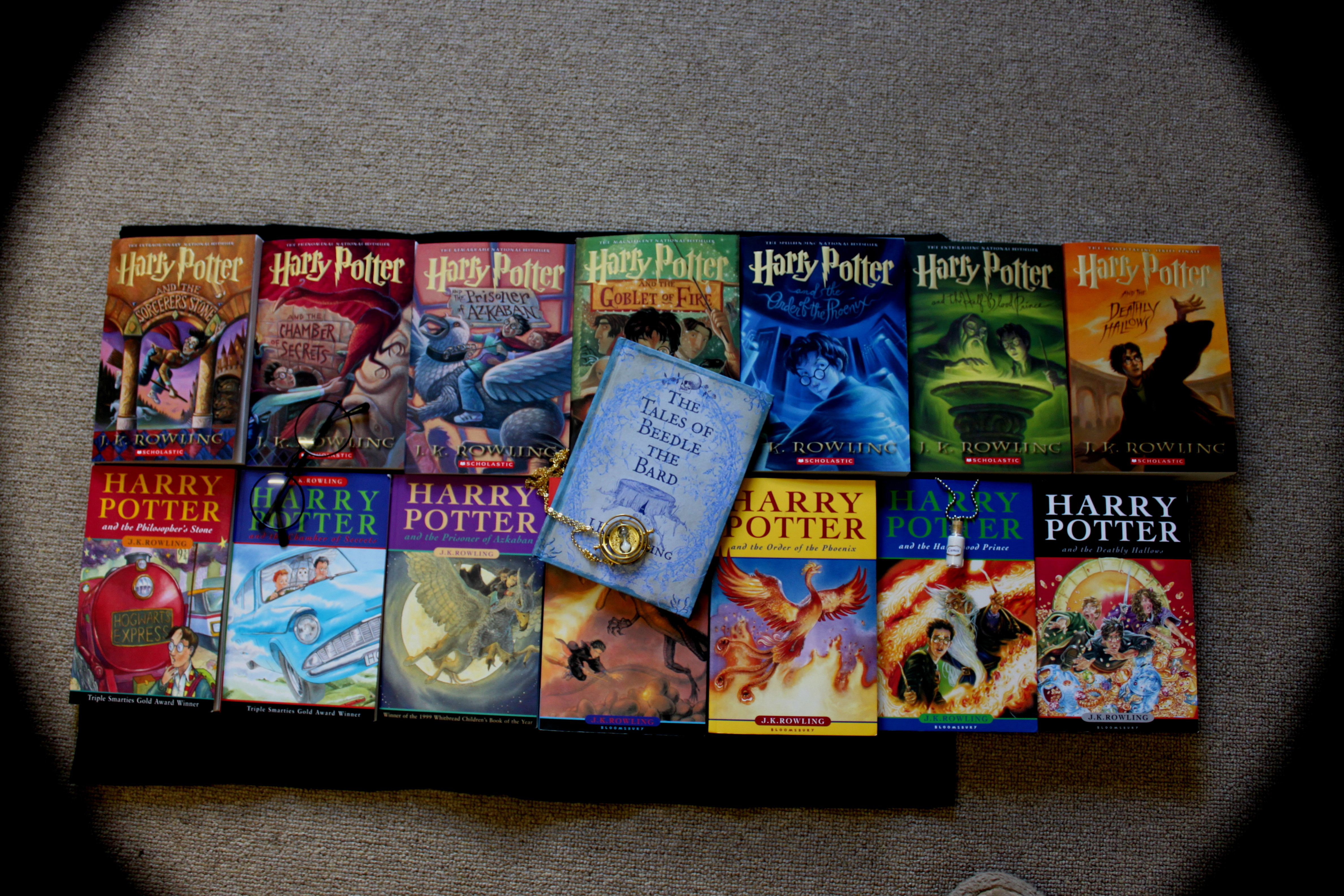 "<p>Книги о Гарри Поттере.&nbsp;Фото: &copy; Flickr/<a href=""https://www.flickr.com/photos/laurenashleigh/"">lozikiki</a></p>"
