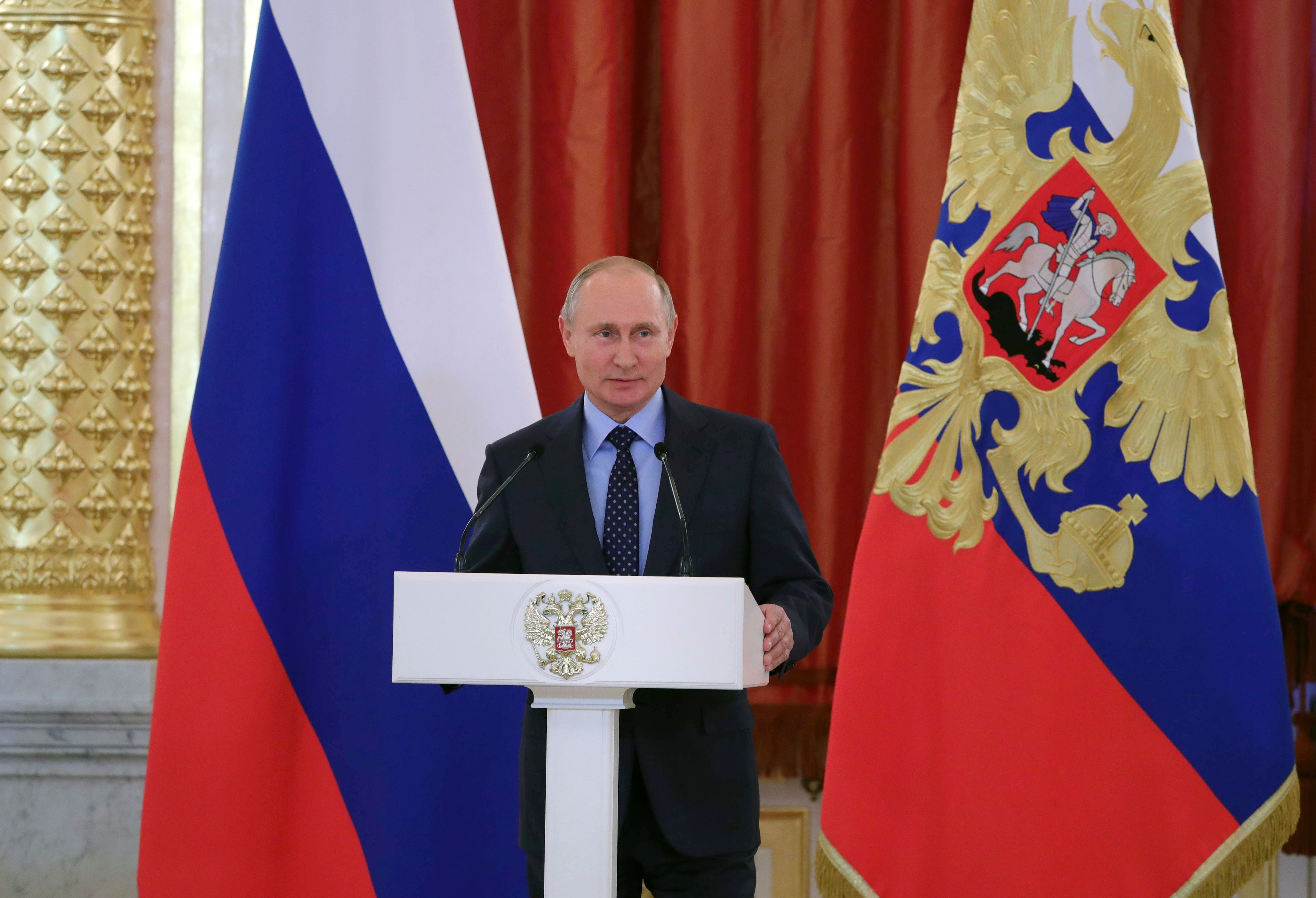<p><span>Владимир Путин. Фото: &copy;РИА Новости/Михаил Климентьев</span></p>