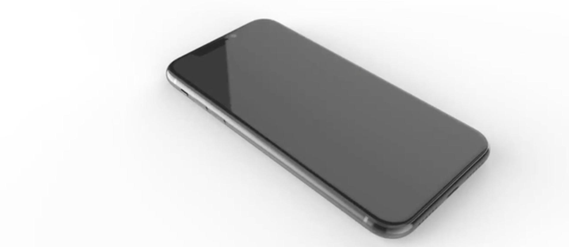 "<p>Рендер новой модели iPhone. Фото &copy; Twitter/<a href=""https://twitter.com/onleaks""><span>OnLeaks</span></a></p>"