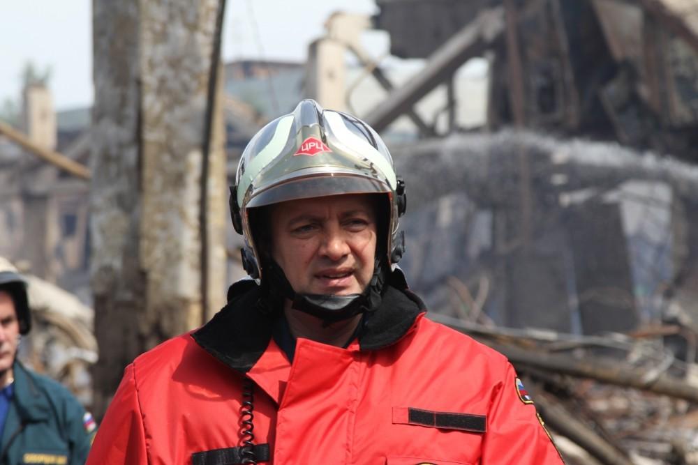 Генерал-майор Игорь Кобзев. Фото: © МЧС России