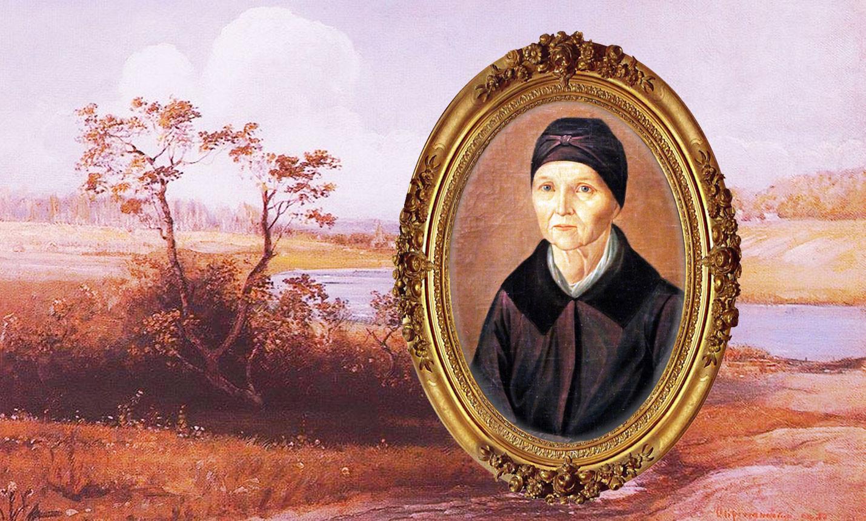 Арина Родионовна. Коллаж © L!FE. Фото © Wikimedia Commons