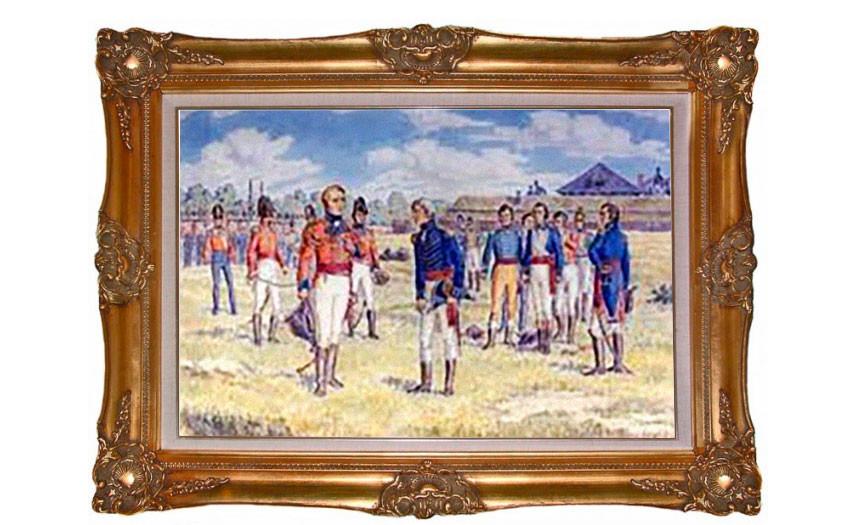 Битва при Детройте. Фото © Wikimedia Commons