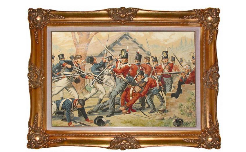 Смерть капитана Макнила в битве при Форт-Йорке. Фото © Wikimedia Commons