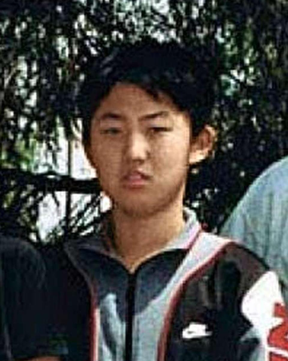 Фото © Соцсети. Ким Чен Ын в школьные годы