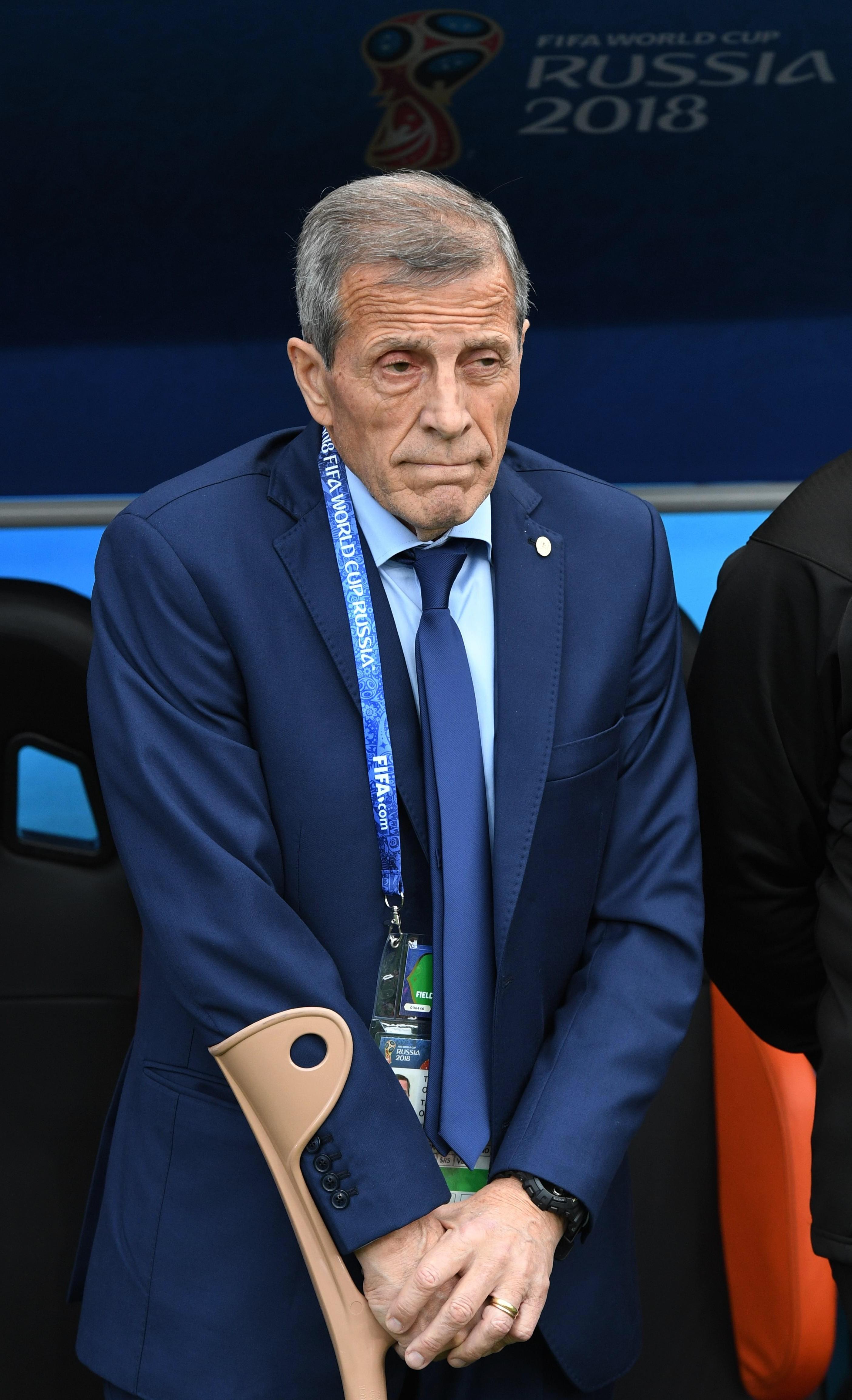 Оскар Табарес перед матчем. Фото: © РИА Новости/Александр Кряжев