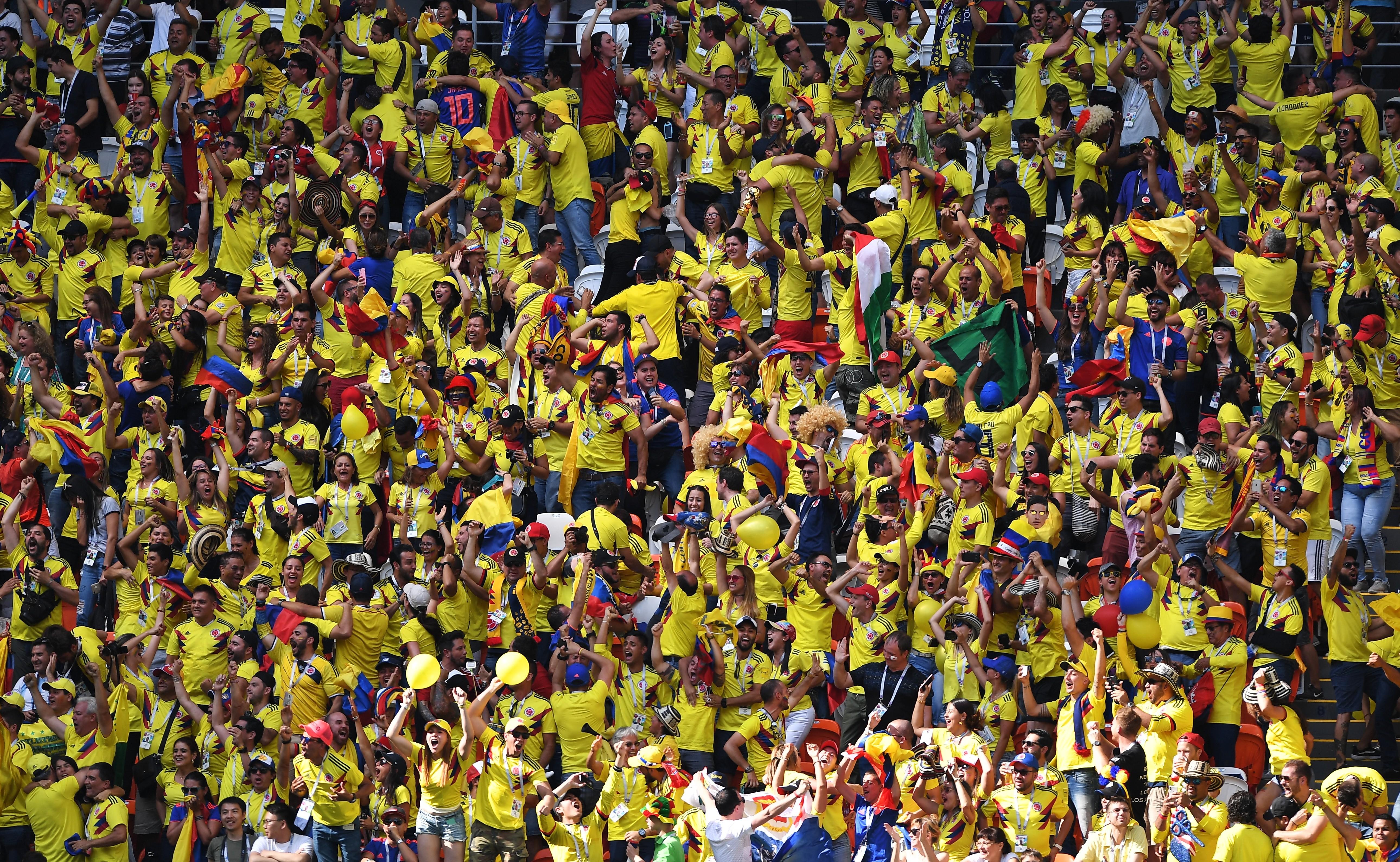 <p>Болельщики сборной Колумбии. Фото: &copy; РИА Новости/Максим Блинов</p>