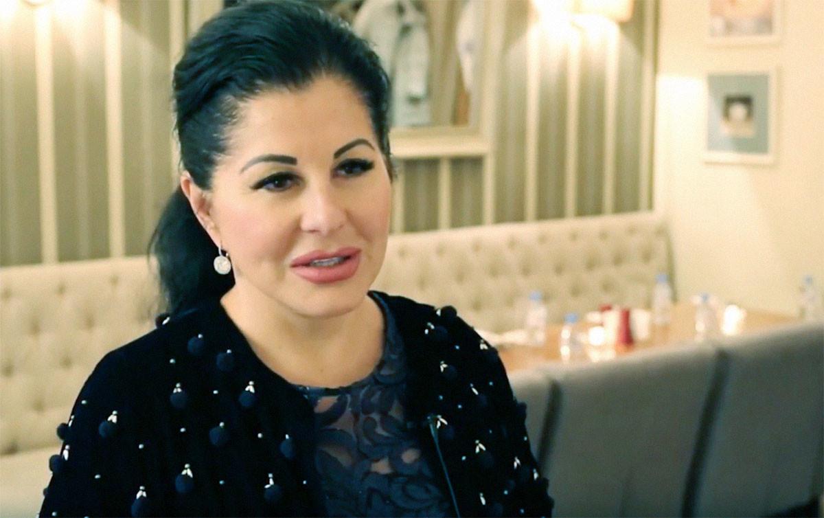 Марина Сечина. Кадр видео Федерация конного спорта России