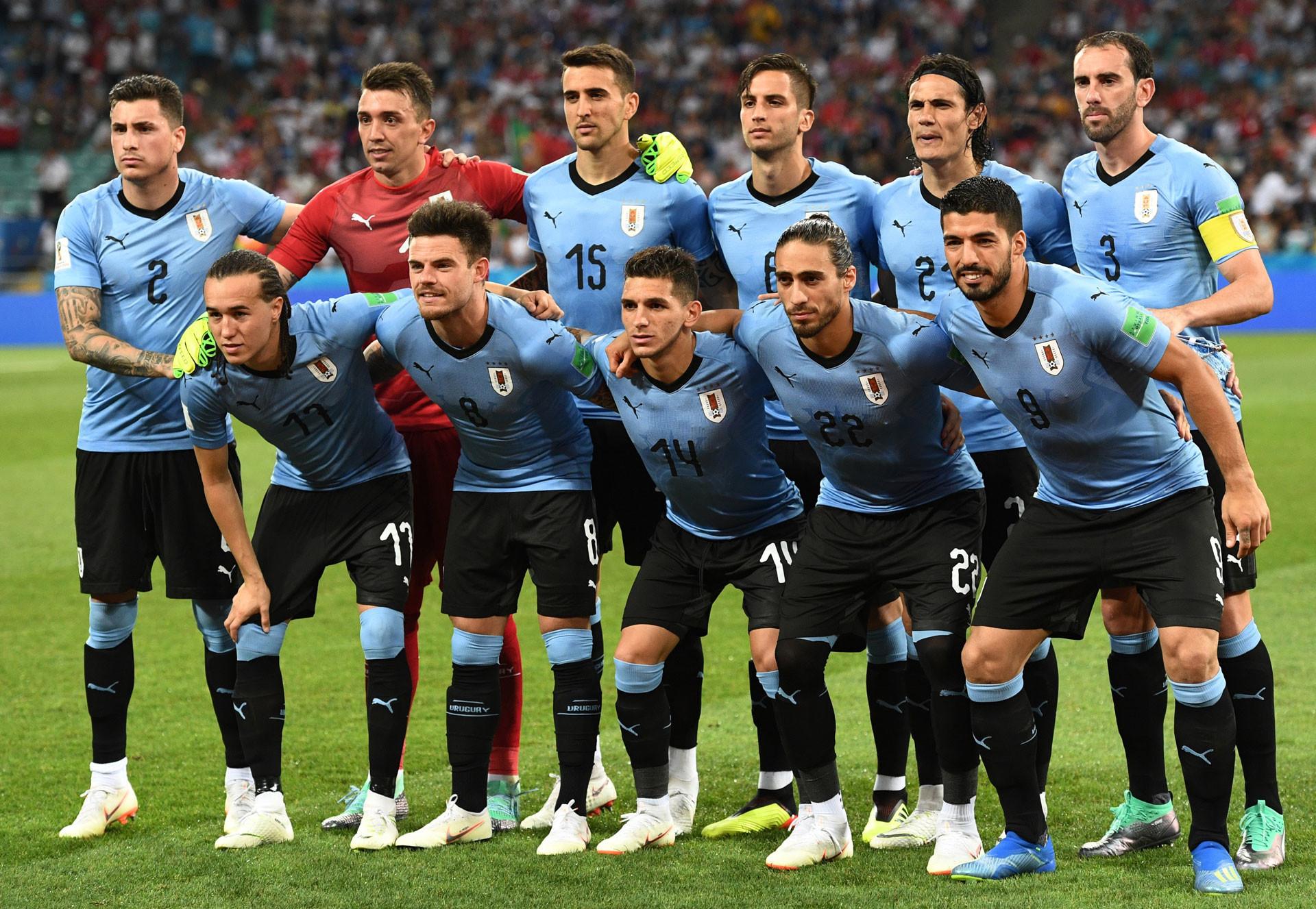 Игроки сборной Уругвая. Фото: © РИА Новости/Александр Кряжев